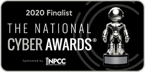 National Cyber Awards Finalist badge
