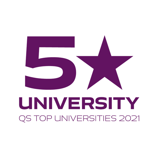 QS World University Rankings 2021 logo