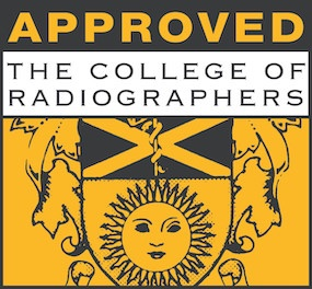College of radiographers approved course logo