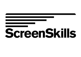 ScreenSkills logo in black