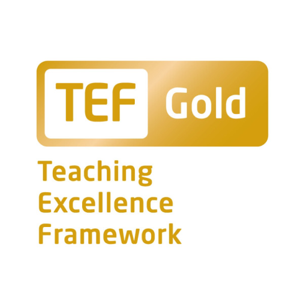 TEF Gold logo square