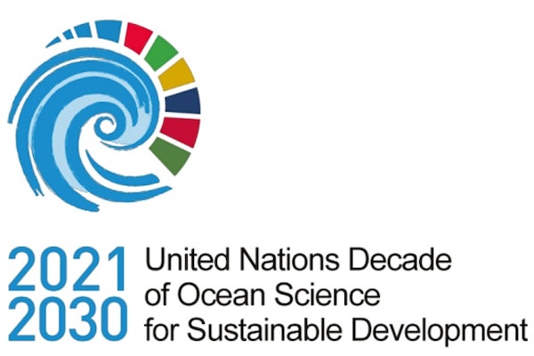 UN Decade of Ocean Science logo