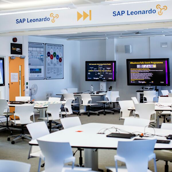 Room view of the SAP next generation lab