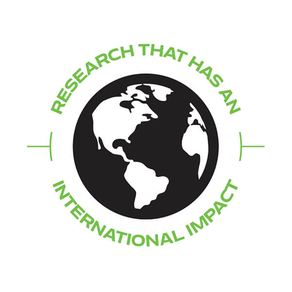Research that has an international impact