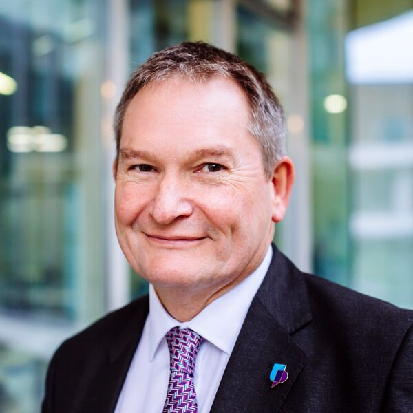 Professor Graham Galbraith, Vice-Chancellor, University of Portsmouth