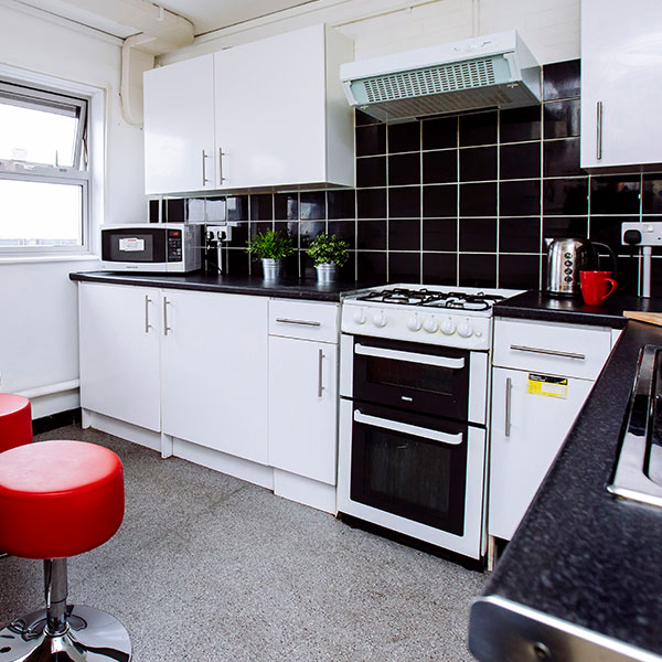 Kitchen in Bateson Hall, Portsmouth