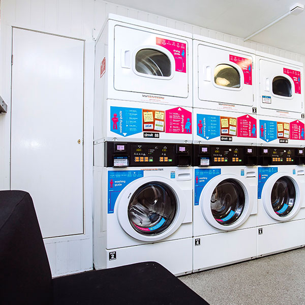 Laundrette in Bateson Hall, Portsmouth