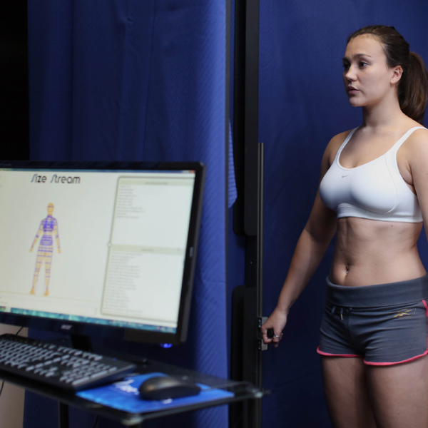 3d scanning of bra fit