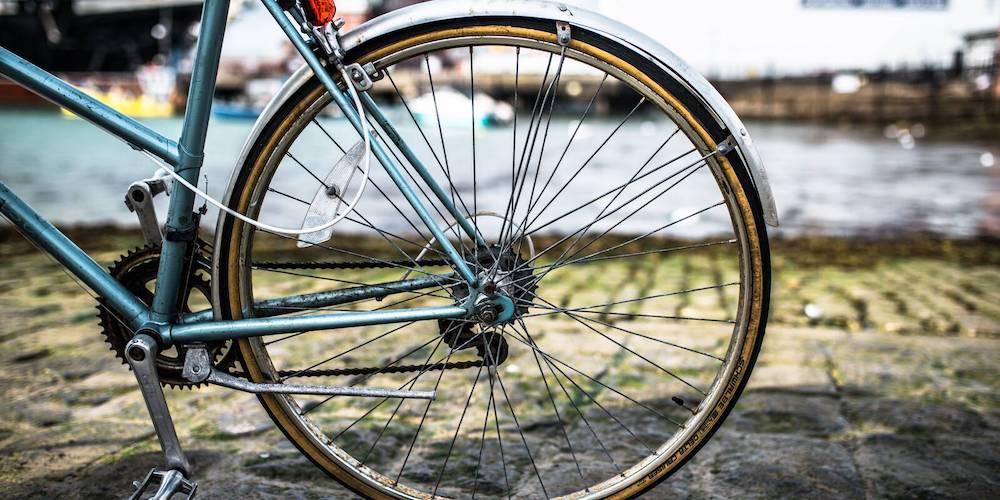 Bicycle in the Historic Dockyard