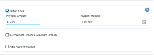 WebPay screenshot