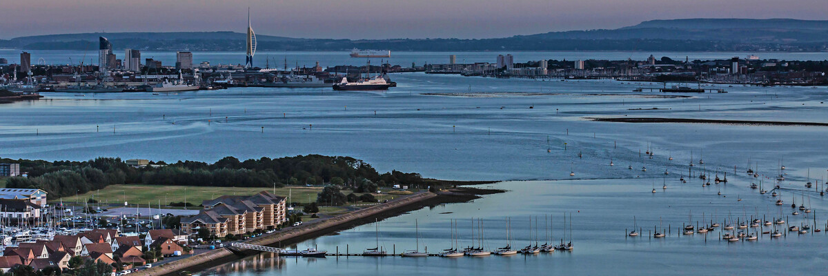 Portsmouth city view
