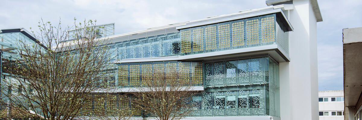 Future Technology Centre, exterior, University of Portsmouth