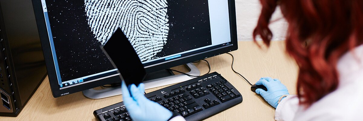 Criminology student considers crime technology