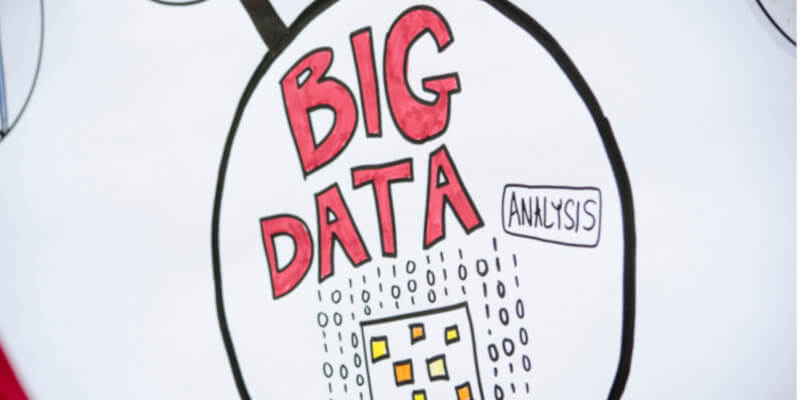 "The words ""Big data"" handwritten in red"