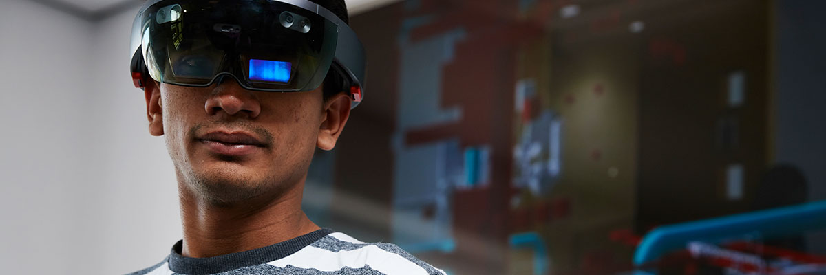 MRes Technology student models virtual reality tech