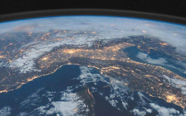 Image of planet Earth taken from space