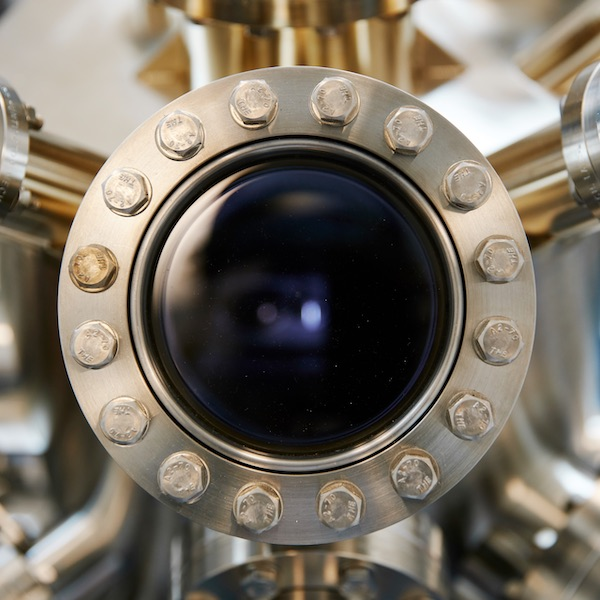 Close up of Molecular Beam Epitaxy system
