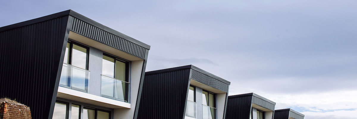 Sustainable housing at Priddy's Hard, Gosport