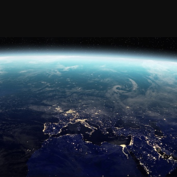 Earth, as seen from space