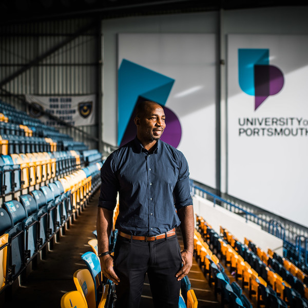 Vncent Pericard, former footballer turned marketer