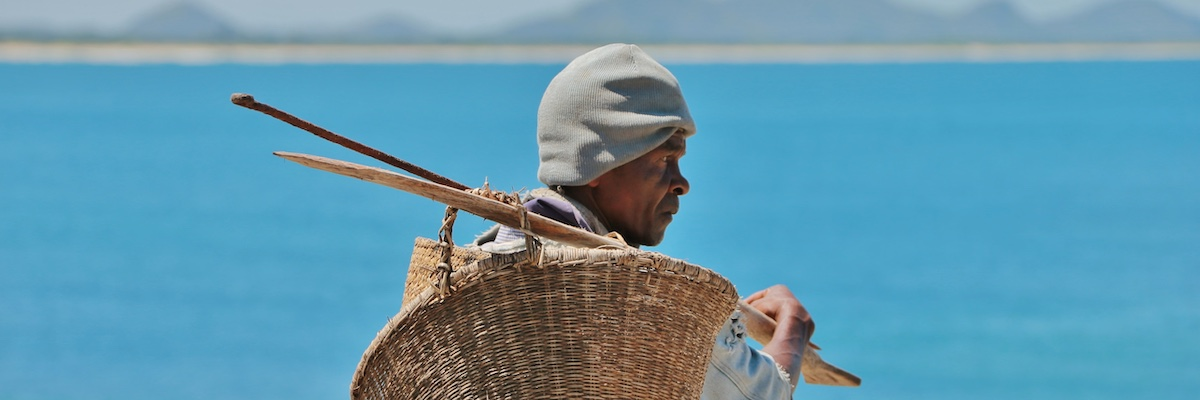 Fisherman in Fort Dauphin, Madagascar