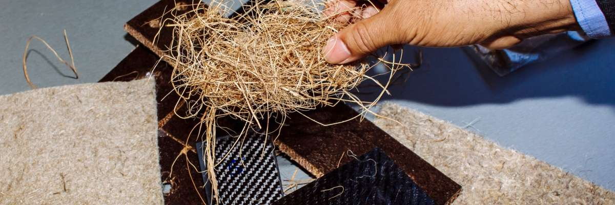 Composite materials and natural fibre