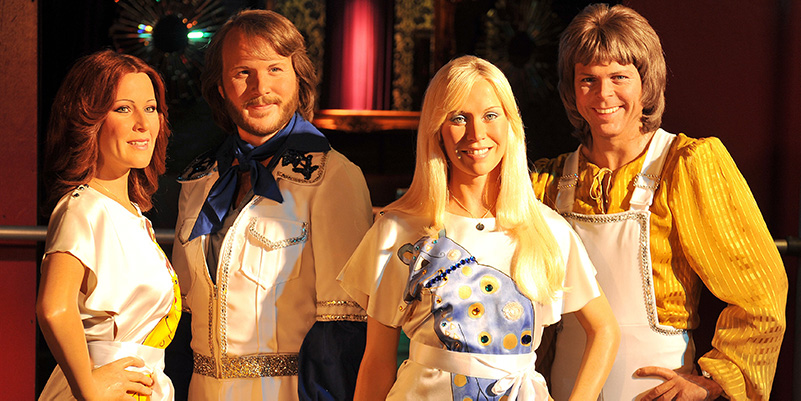 Wax figures of ABBA