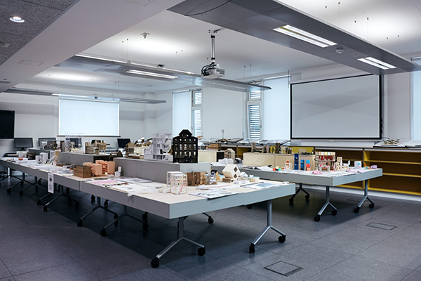 Architecture projects displayed at the 2019 CCI grad show