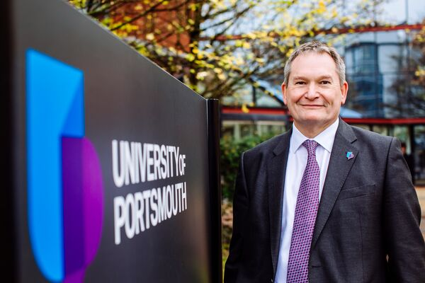 Vice-Chancellor, Graham Galbraith