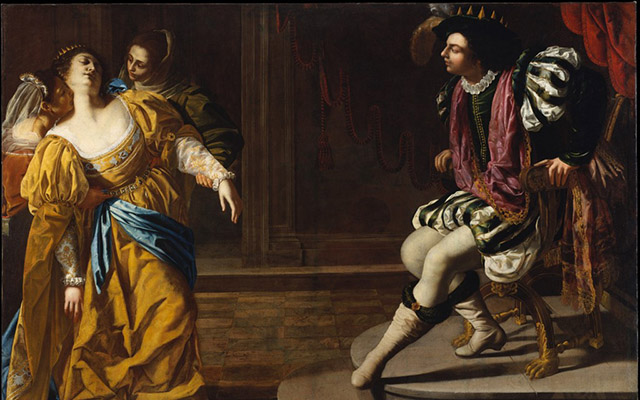Artemisia Gentileschi, Esther before Ahasuerus