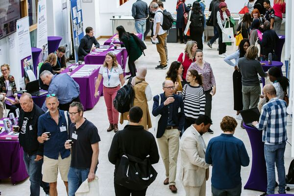 group of people at a university of portsmouth event