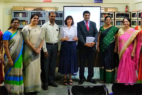 Academic joins British Council Biotechnology for tour across India