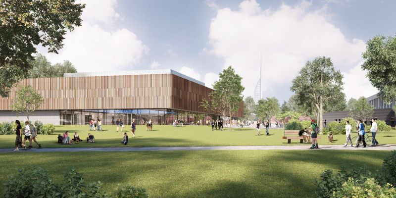 Artistic impression of the new sports facility