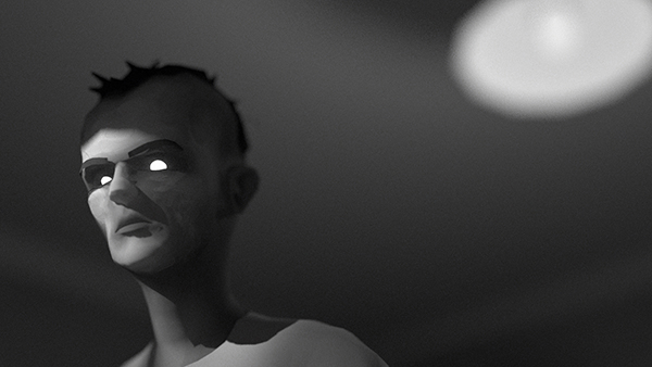 A still from Jordan Buckner's debut short film //_sleeper, chosen as part of Britain's best animation talent