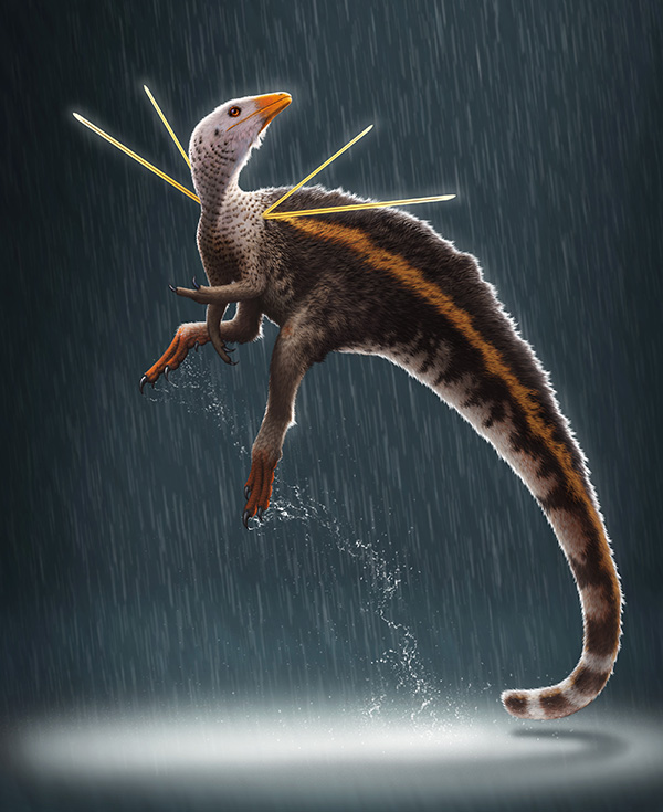 Artist's impression of new dinosaur