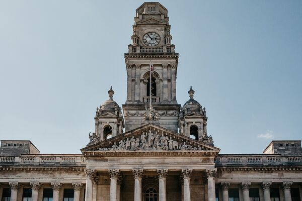 Portsmouth Guildhall, which hosts the Makers' Guild