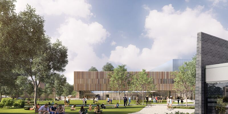 Illustration of the Ravelin Park Sports Development